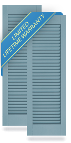 All Louver Atlantic Architectural Shutters