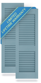 Cottage Style Louver Atlantic Architectural Shutters