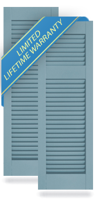 Offset Louver Atlantic Architectural Shutters