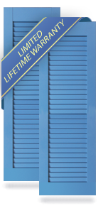 All Louver Architectural PVC Shutters