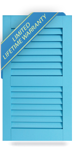 Architectural Storm Rated PVC Bahama Shutters