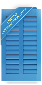 Architectural Traditional PVC Bahama Shutters