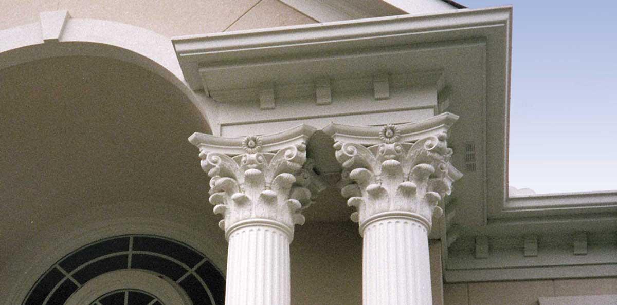 corinthian wood columns