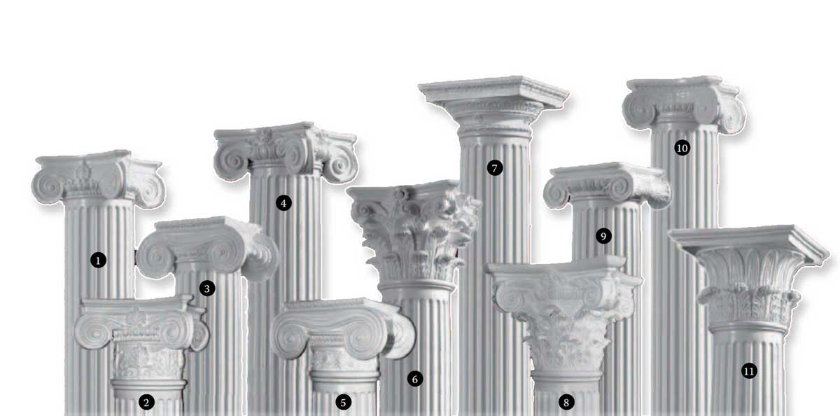 Ornamental Column Capitals