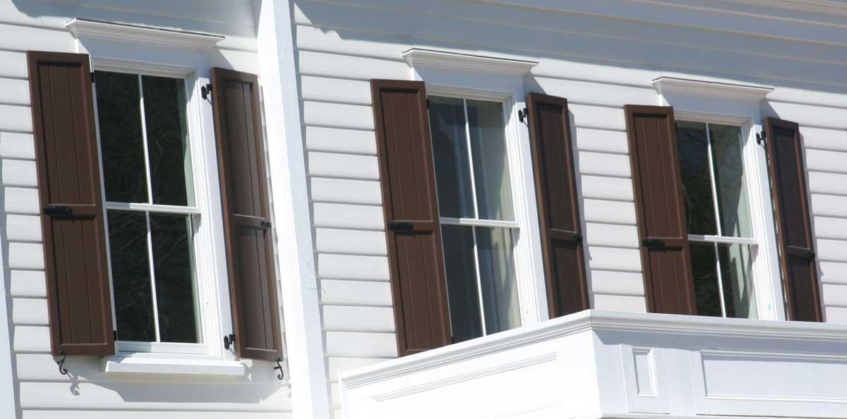 Architectural PVC Exterior Shutters | PVC Shutters Pacific Columns, Inc.